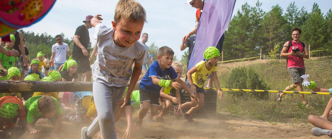 Hero Run Kids Ogrodniczki