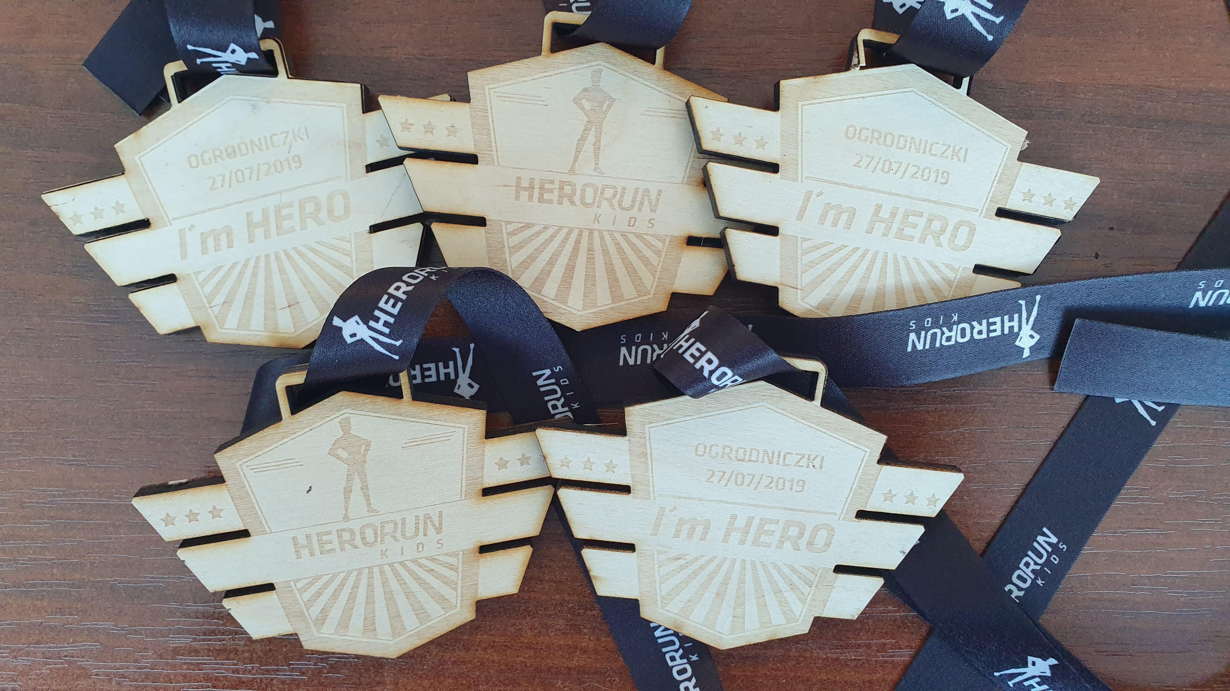 Medale Hero Run KIDS