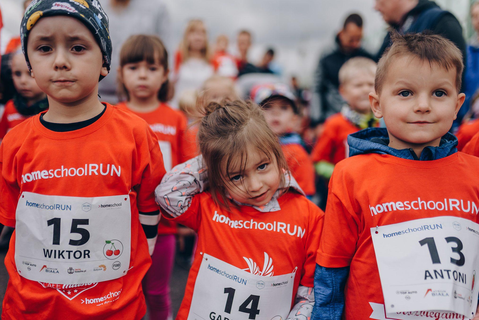 Zapisy do biegu ulicznego Homeschool Run – zostały otwarte!